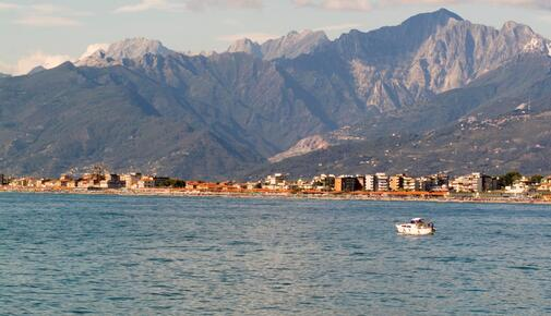Easter at the sea of Versilia