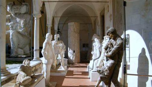 The museum of sketches in Pietrasanta