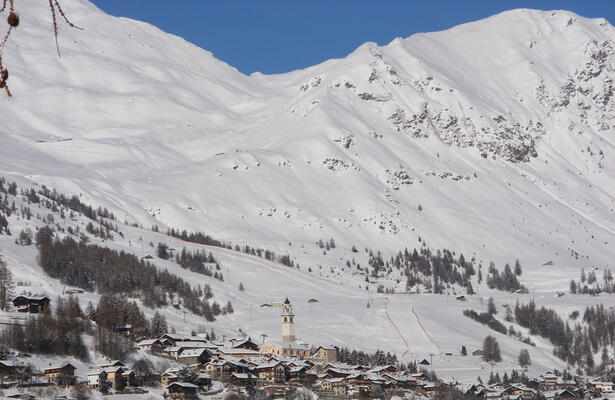 The Monterosa-Ski areas