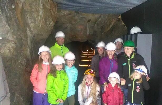 Miniera d'oro di Chamousira a Brusson in Valle d'Aosta