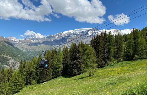 Apertura impianti sciistici del Monterosa Ski a Champoluc e Frachey: estate 2021