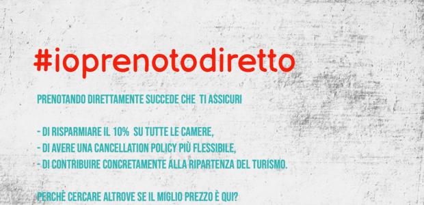 CON #IOPRENOTODIRETTO SCONTO 10%