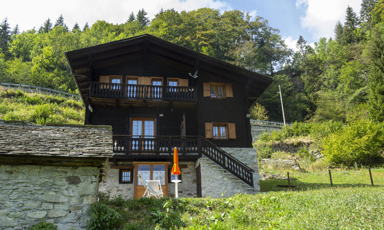 SPECIAL JULY - BORGO WALSER TESTA - ENTIRE CHALET