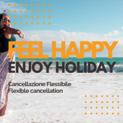 FLEXIBLE CANCELLATION UP TO 3 DAYS