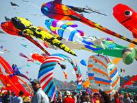 Sonderbrücke 25. April 2020 und Kite Festival