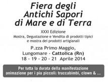 Fiera degli Antichi di Sapori di Mare e di Terra 2014 a Cattolica