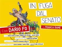 In Fuga dal Senato: spettacolo di Dario Fo al Teatro Nuovo di San Marino