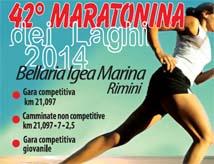 42esima Maratonina dei Laghi a Igea Marina
