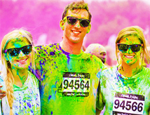 Color Vibe 5k Run 2014 a Cervia