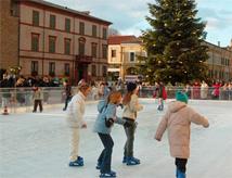 Pista di pattinaggio sul ghiaccio 2014/2015 a Cervia