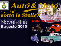 Auto e Moto sotto le stelle 2015 a Novafeltria