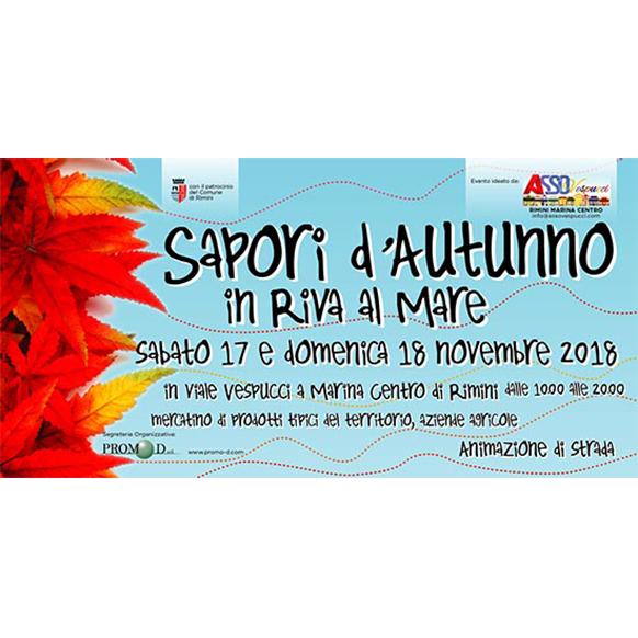 Sapori d'Autunno in Riva al Mare 2018 a Rimini