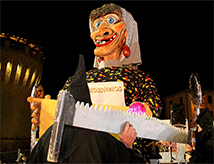 Festa della Segavecchia 2016 a Forlimpopoli