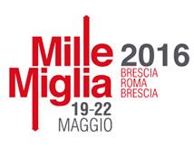 Mille Miglia 2016 a Rimini