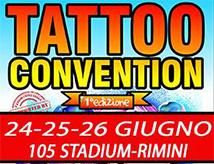 Rimini Tattoo Convention 2016 al 105 Stadium
