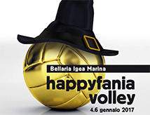 Happyfania Volley 2017 a Igea Marina