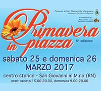 8° edizione di Primavera in Piazza a San Giovanni in Marignano