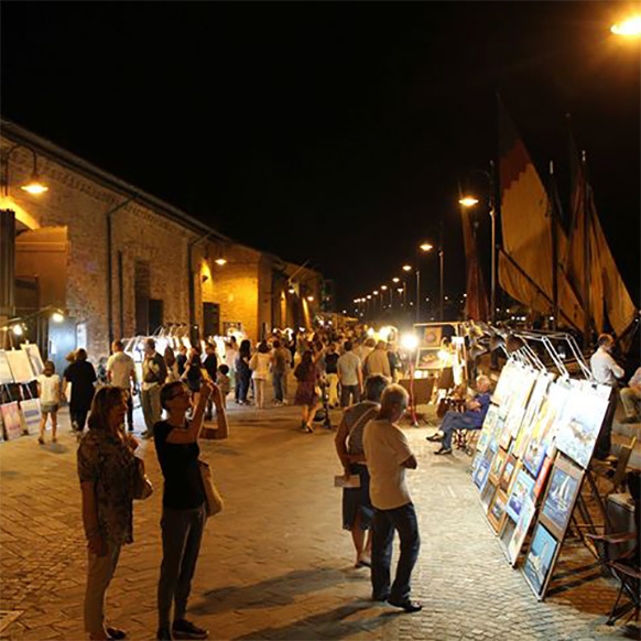 Borgomarina Vetrina di Romagna 2018 a Cervia