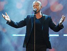 Biagio Antonacci in concerto all'RDS Stadium di Rimini
