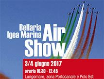 Bellaria Igea Marina Air Show 2017 con le Frecce Tricolori