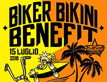 24esima edizione di Biker Bikini Benefit a Cesenatico