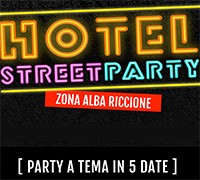 Hotel Street Party 2017 a Riccione