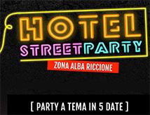 Hotel Street Party 2017 a Riccione