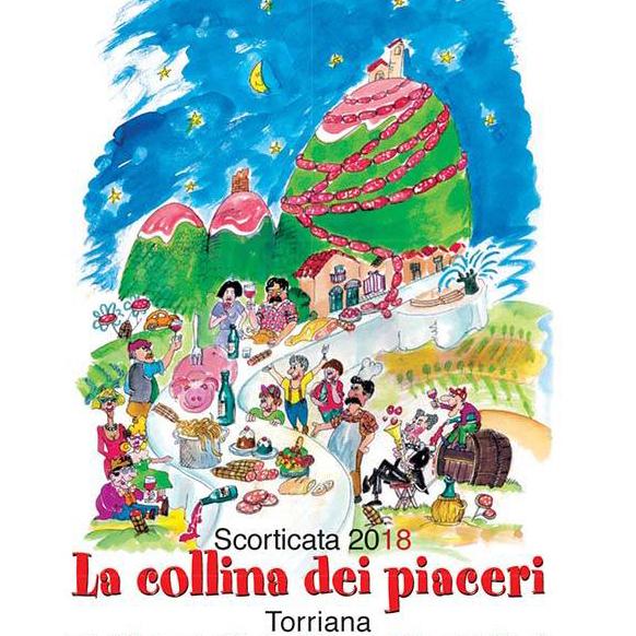 Scorticata 2018: la collina dei piaceri a Torriana di Rimini