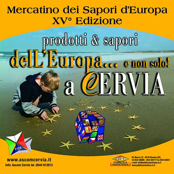 Mercato Europeo 2018: prodotti e sapori dell'Europa a Cervia