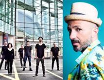 Concerto di Samuel con i Planet Funk all'RDS Stadium di Rimini