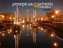 Presepe della Marineria 2018 a Cesenatico