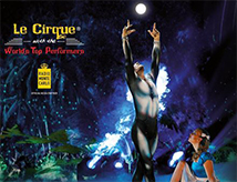 Le Cirque World's Top Performers Alis all'RDS Stadium di Rimini