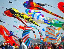 Festival Internazionale dell'Aquilone a Pinarella di Cervia