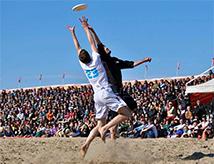 Paganello, The Beach Ultimate Frisbee a Rimini