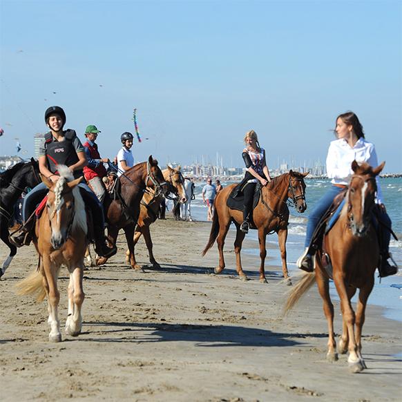 A Cavallo del Mare a Cervia, edizione Primavera 2018