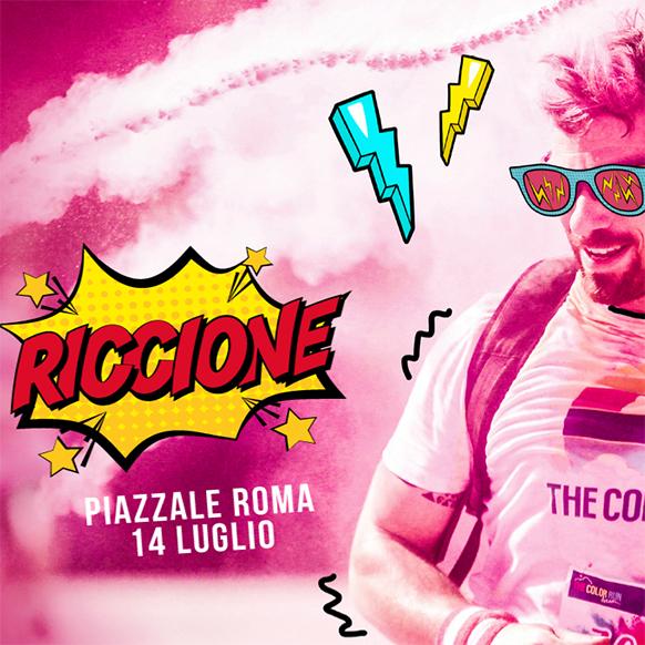Tappa a Riccione della Color Run 2018