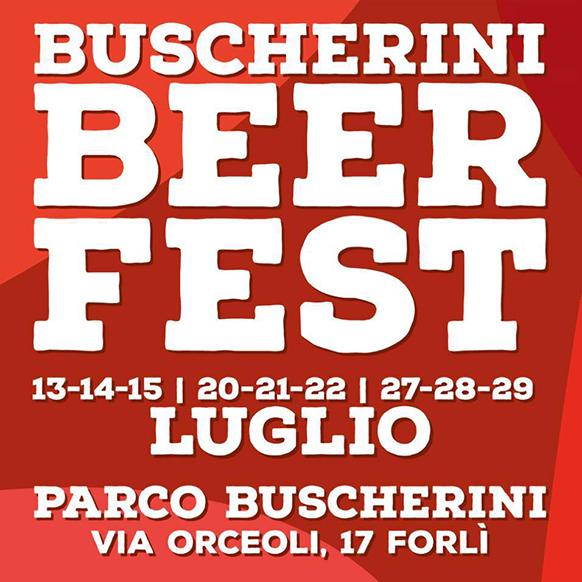 Buscherini Beer Fest 2018 a Forlì