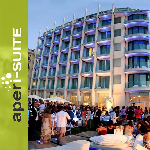 Aperitivi e cene a Rimini estate 2018 presso I-Suite Hotel