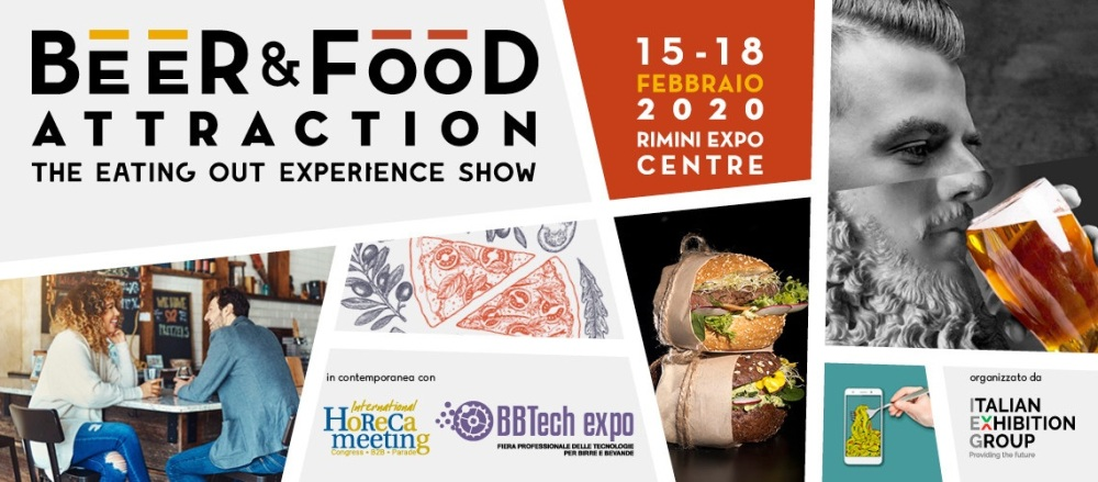 Beer&Food Attraction 2020 alla fiera di Rimini