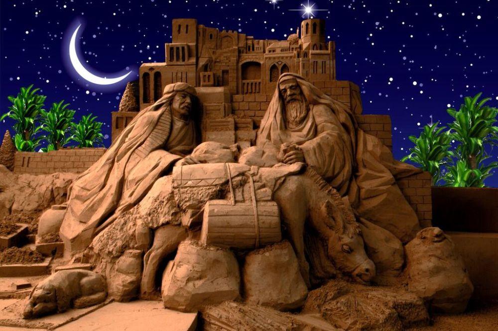 Conosciuto Presepi di sabbia Rimini Natale | Promozione Alberghiera Rimini MF69