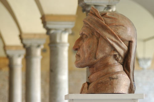 Busto di Dante Alighieri