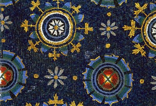 Mosaico nel Mausoleo di Galla Placida