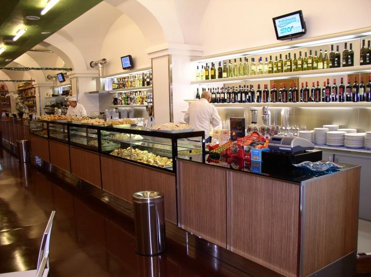 CAFFE' DOLCEAMARO ROMA ARCH. ALBERTO ALBEGGIANI