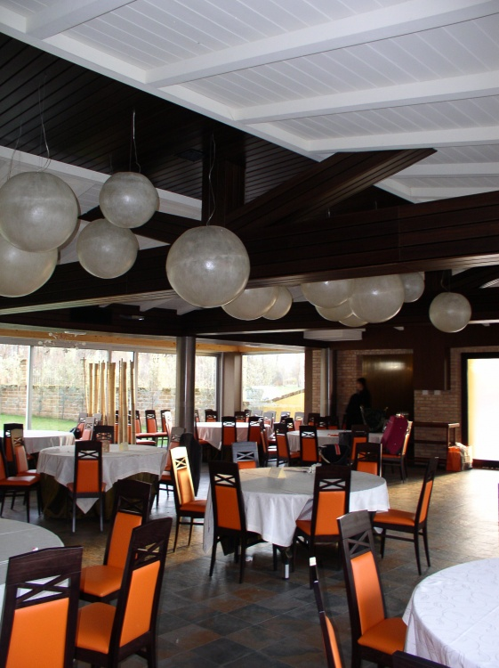 Sala ristorante Villa Elena Sulmona (AQ)