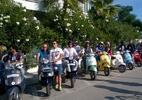 VESPA TOUR MOTO GP INSIEME AGLI AMICI DI BRINDGESTONE....