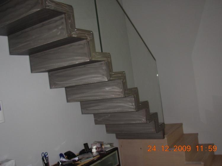 Favoloso Scale in ferro, scale in ferro battuto, progettazione e montaggio  TL79