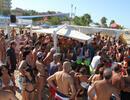 Bagno 78 Sabbia d'Oro Rimini Beach Party Il giorno di Ferragosto