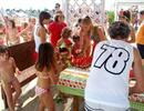 Rimini Beach 78 Baby Club and watermelon for everyone!