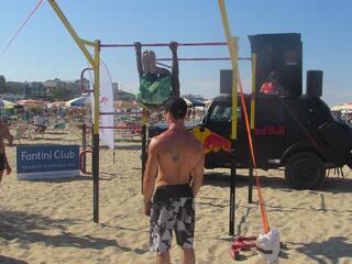 Calisthenics Beach Work Out - Fantini Club Cervia - 4-5 agosto 2018 - 00