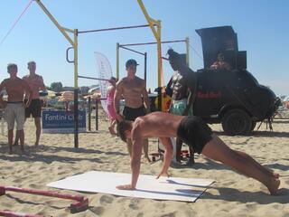Calisthenics Beach Work Out - Fantini Club Cervia - 4-5 agosto 2018 - 08